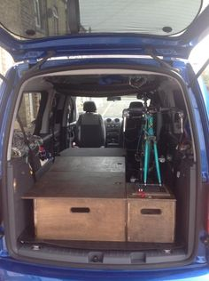 1000 images about vans on pinterest caddy maxi camper van and bike storage. Black Bedroom Furniture Sets. Home Design Ideas