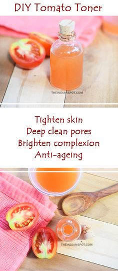 HOMEMADE+TOMATO+TONER+TO+TIGHTEN+AND+DEEP+CLEAN+PORES