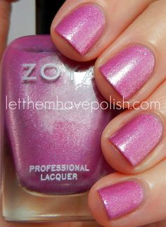 Zoya - Rory from the Summer 2012 Surf Collection swatches by Let them have Polish!