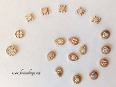 Gold jewelry from BVLA. E-mail with questions Braindrops.sf@gmail.com. #Braindrops #bodymodification #jewelry #gold