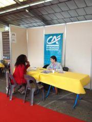 Le Crédit Agricole Pyrénées Gascogne présent au forum de l'alternance 2013 !