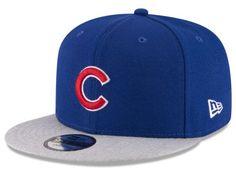 ea7f8c25402e8 Chicago Cubs New Era MLB Heather VIze 9FIFTY Snapback Cap Team Cap