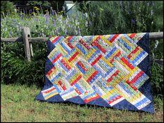 Rail Fence Quilt | by PamelaS3