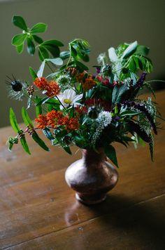 muebleando otra vez: Pon flores en tu vida.....