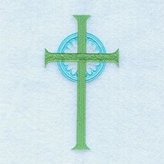 Halo Cross - 5x7 | Easter | Machine Embroidery Designs | SWAKembroidery.com Starbird Stock Designs