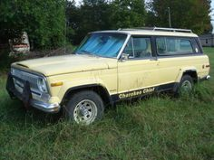 1976 Jeep Cherokee Chief, almost like the one in walking dead???