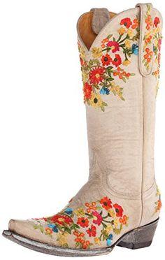 Old Gringo Women's Flora Western Boot, Bone, 7 B US Old Gringo http://www.amazon.com/dp/B00SBEN1C6/ref=cm_sw_r_pi_dp_4SWfxb0B478T6