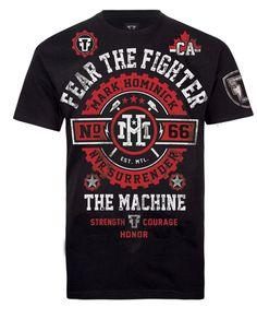 FTF Mark Hominick UFC 154 Walkout Tee Martial Arts Books 46479b4bf0710