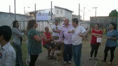 Reunião com os moradores do bairro Rodeio. — em Mogi das Cruzes.