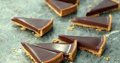TARTE AU CHOCOLAT - Jacques Genin's famous simple chocolate tart: The recipe