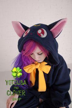 Luna kigurumi by yotsubanoclover on Etsy