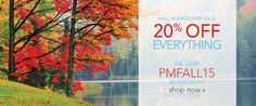 Love Pure Michigan merchandise? Use our code (PMFALL15) for 20% off your purchase!