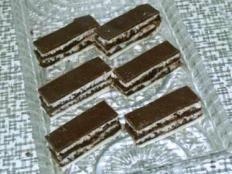 Zebra rezy - recept Sweet Desserts, Dessert Recipes, Candy, Chocolate, Foods, Food Food, Food Items, Chocolates, Sweets