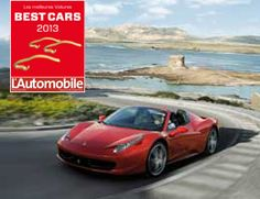Ferrari 458 Spider and F12berlinetta takes two honours in L'Automobile Magazine's Best Cars 2013 awards