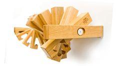 Fusillo Book Shelf - individual slats rotate!