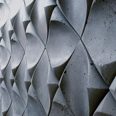 Dune Wall Treatment by UrbanProduct » CONTEMPORIST - available in Concrete, wood or ceramic \ #design