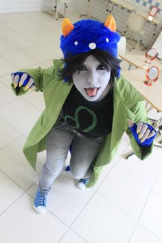 Nepeta Leijon (Homestuck). Gosh. I dunno if I wanna do Nepeta or Jade or Fem!Sollux or Kanaya or Ib (from Ib) or Snow White (from Fables or TWAU) anymore! Its too hard of a choice...
