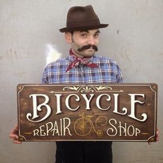 Tj Pinstriping: Bicycle Repair shop sign