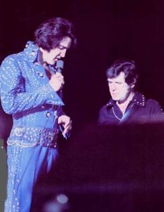 Elvis and Charlie met while stationed in Germany. R.I.P. <3