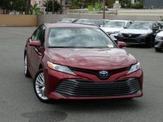 Enhancing almost everything from performance to comfort, the 2019 Toyota Camry from Toyota near Huntington Beach drives and looks better than ever. Toyota Camry, Huntington Beach, Rear Seat, Automatic Transmission, Driving Test, Used Cars, Coast, Car Dealers, Personality