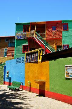 Caminito in La Boca, Buenos Aires - Argentina, America do Sul World Of Color, Color Of Life, Argentine Buenos Aires, Chile, Bolivia, Location Scout, Equador, Photography Tours, Small Garden Design