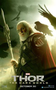 Odin Poster for Thor: The Dark World   Superhero Hype - LOVE this one ♥