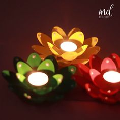 Diy Room Decor Videos, Diy Crafts For Home Decor, Diy Resin Crafts, Diy Arts And Crafts, Paper Crafts, Diya Decoration Ideas, Diwali Decorations At Home, Christmas Candle Decorations, Plastic Spoon Crafts