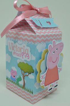 5th Birthday, Birthday Parties, Peppa Pig House, Aniversario Peppa Pig, Milk Box, Pig Party, Birthdays, Scrapbook, Fun