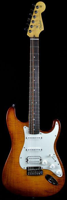 Wild West Guitars : Fender Select Stratocaster HSS in Anitque Burst