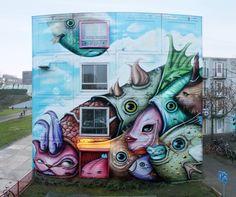 Mind Blowing Street Arts by Andre Muniz Gonzaga [Part-II]