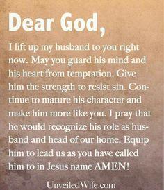 Prayer for my future husband