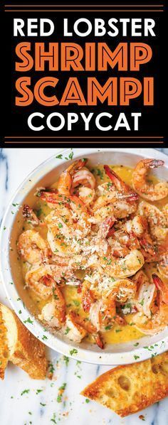 Red Lobster Shrimp Scampi Copycat - Make everyone's favorite dish right at home - it's budget-friendly and it looks so fancy without any of the hard work!