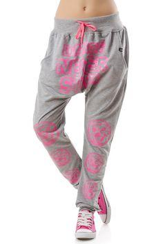 fa2fbfdd7fb88 Pantalon sport de dama tip potur cu aplicație