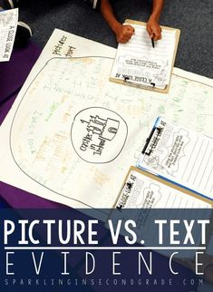 Picture vs. text evi