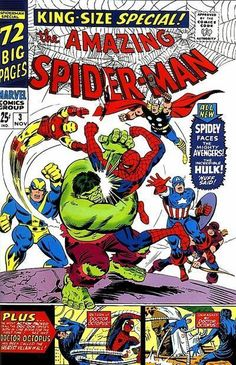 The Amazing Spider-Man Annual #3 John Romita / Steve Ditko Cover