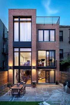 Gallery of Brooklyn Passive House Plus / Baxt Ingui Architects - 1