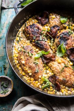 You searched for Garlic butter creamed corn chicken - Half Baked Harvest Corn Chicken, Butter Chicken, Skillet Chicken, Garlic Chicken, Creamed Corn, Creamed Chicken, Parmesan, Cooking Recipes, Healthy Recipes