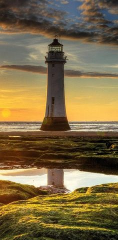 """Sun sand and beach"". New Brighton, Wallasey, England lighthouse Saint Mathieu, Beautiful Places, Beautiful Pictures, Lighthouse Pictures, New Brighton, Brighton England, England Uk, Liverpool England, Beacon Of Light"