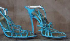 vintage strappy heels. deelish.