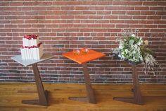 Scandinavian minimal wedding // Emily Elizabeth Events + A love supreme photography + Pretty Flowers Maine + Winey Baker + Eben Blaney Furniture