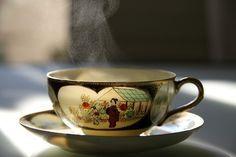 cha-cura-ressaca-estomago - chá detox, chá melhorar ressaca, chá de boldo, chá de erva doce, xícara decorada, xícara chinesa, porcelana