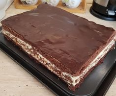 Hungarian Desserts, Hungarian Recipes, Pie Recipes, Sweet Recipes, Torte Cake, Kaja, Sweet Cakes, Cakes And More, Chocolate