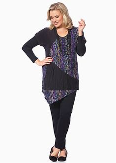 #TS Snakes Alive Tunic #plussize #curvy