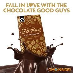 Divine Chocolate UK is a delicious sweet treat and a great alternative to Hershey's, Mars, Godiva Chocolatiers, and Nestle! http://www.facebook.com/GmoInside