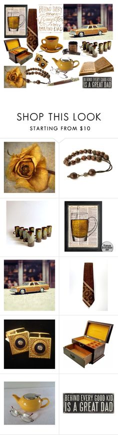 """""""For a Great Dad !!"""" by riagr ❤ liked on Polyvore featuring MemberSpotlight, integrityTT, EtsySpecialT and etsyevolution"""