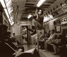 Robert Crumb, New-York - 1968 Photo : Harry Benson