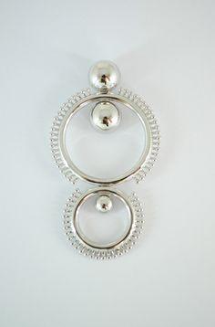 14K White Gold  Pendant Made by DORANO JEWELRY