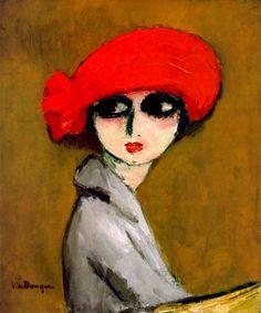 Kees van Dongen  Graine de pavot  (1919)  Huile sur toile