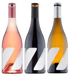Z Wine Labels on Packaging of the World - Creative Package Design Gallery Wine Bottle Design, Wine Label Design, Wine Bottle Labels, Beer Labels, Wine Bottles, Wine Packaging, Packaging Design, Coffee Packaging, Logo Design