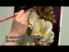 видеоурок живопись маслом цветы дженкинс три белые розы - YouTube